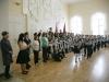 Сегодня 17 марта 2016 года гимназия №3 с искренней радостью и безмерным уважением принимает республиканскую общественную патриотическую эстафету «Встреча знамени Победы».