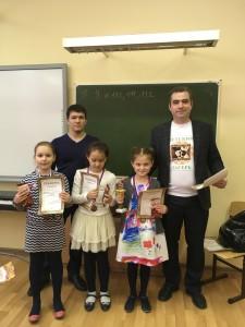 В праздничные дни (с 22 по 25 февраля) в третьей гимназии прошел полуфинал чемпионата г.Уфы по классическим шахматам