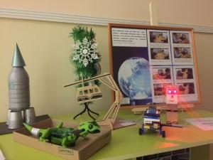 Выставка, посвящённая Дню науки.