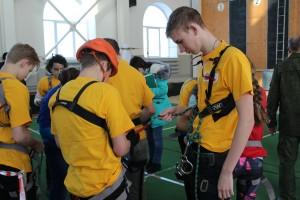 II зимние городские соревнования учащихся «Школа безопасности» 2018